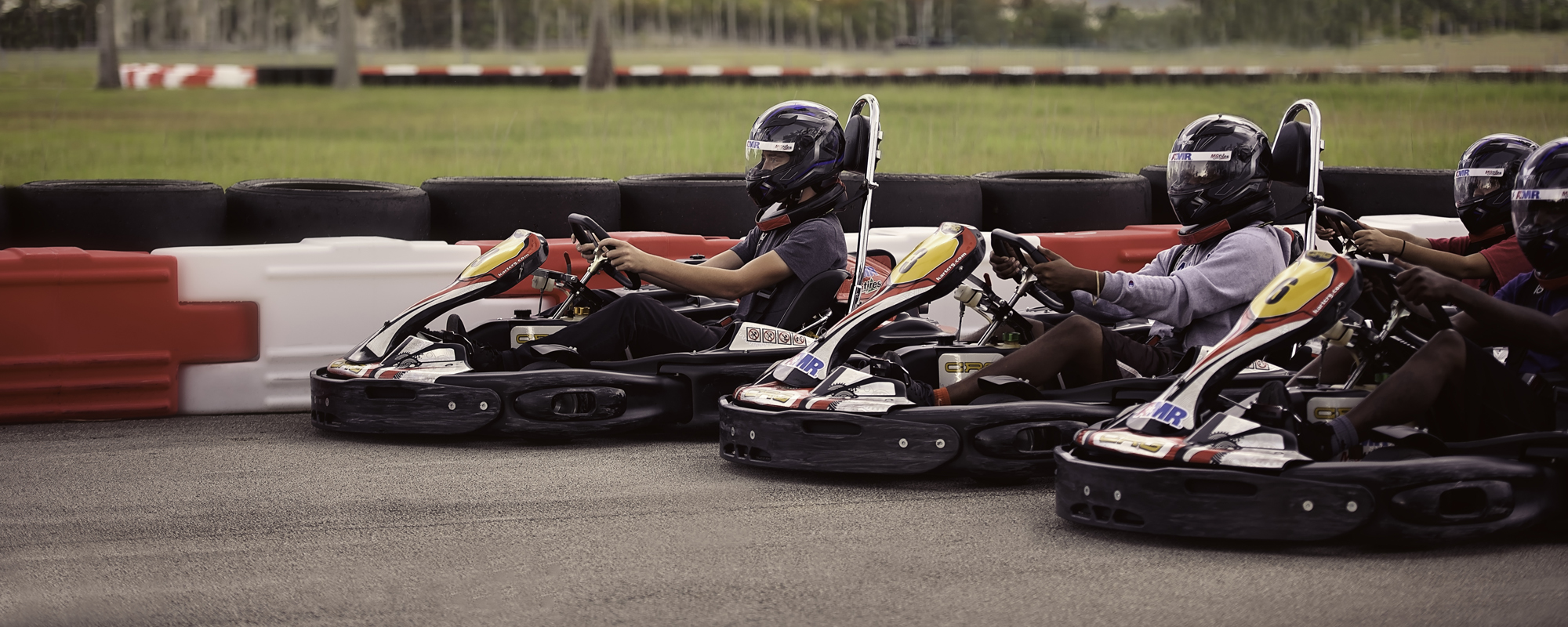 45 MPH Arrive-and-Drive Karting